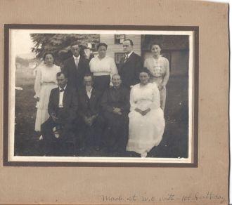 Witt Family at W.C. Witt's 100th birthday