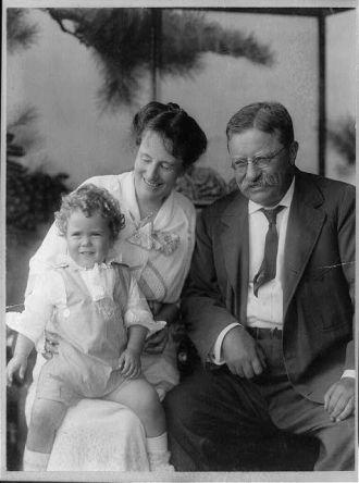 Theodore Roosevelt, Mrs. Roosevelt, Richard Derby