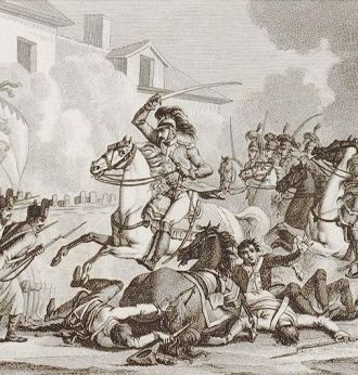 Maupetit's Charge in Battle