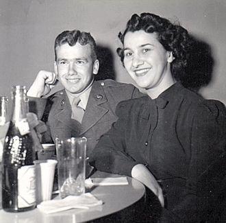 Genevieve Mae (Ulmer) Young, 1945