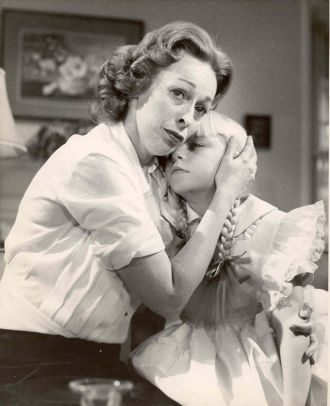 Eileen Heckart Yankee and Patty McCormack