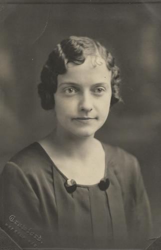 Olga Feidler (married name Parrish)