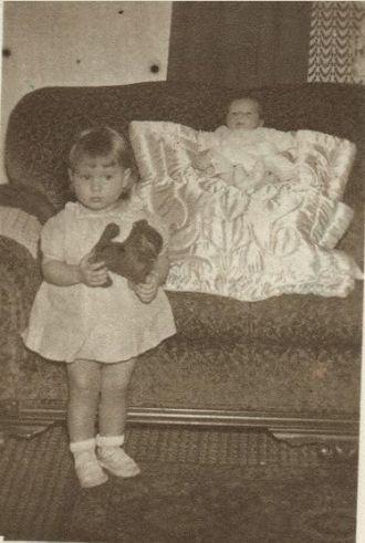 Monica and Nadine Szabo 1940