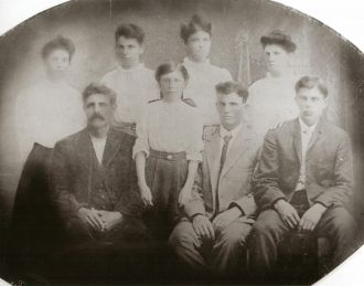Stephen Douglas Newell family
