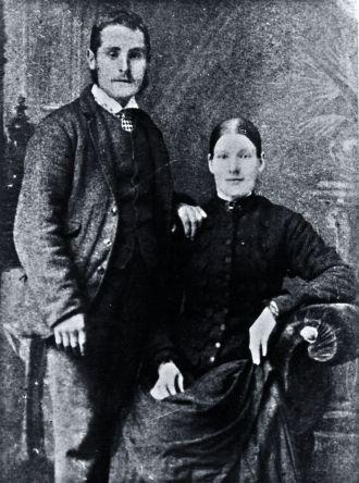 Jabez Knighton & Mary Ann Smith