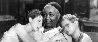 Ethel Waters with Julie Harris and Brandon deWilde.