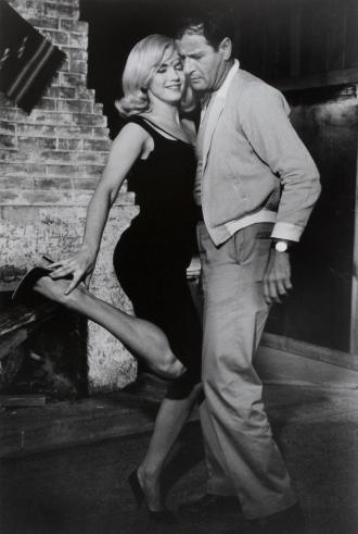 Eli Wallach and Marilyn Monroe