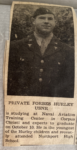 Forbes M Hurley