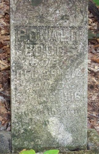 Ronald Boggs Marker