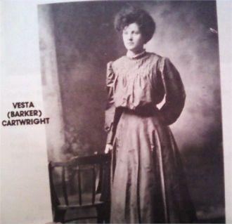 Vesta Mae Barker Cartwright