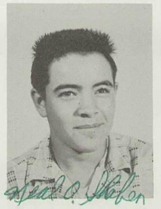 Neal Orvie Shaben--U.S., School Yearbooks, 1900-1999(1958)