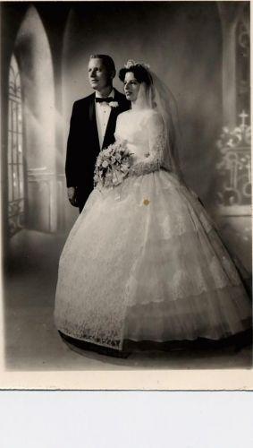 Eldridge-Graff Wedding-1960