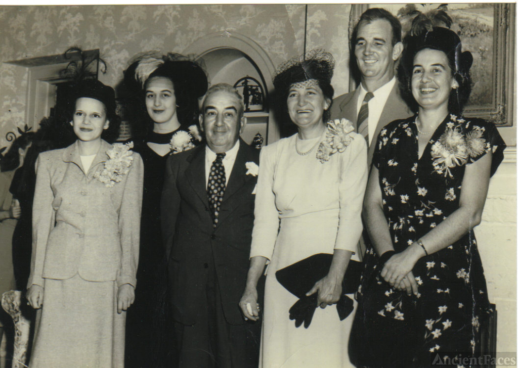 James Lorenzo Rice family