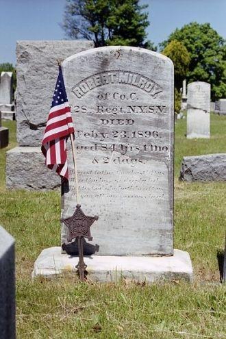 Grave of Robert Milroy gravesite