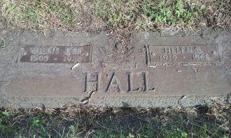Mattie Bernice Hall gravesite