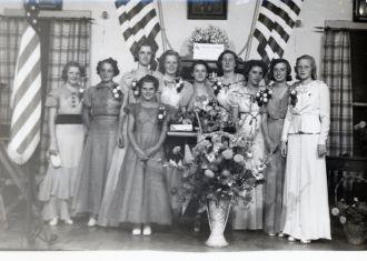 Betty Maddux, 1940