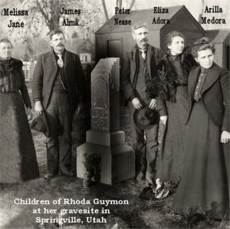 Rhoda Guymon's children