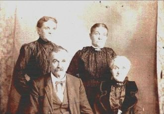 William James Berry and family