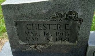 Chester Gragg Gravesite
