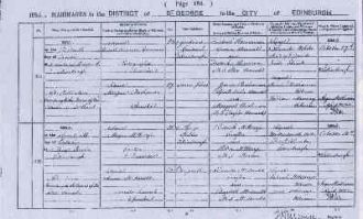Frederick Henneman marriage certificate