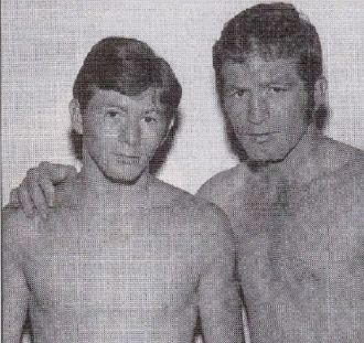 "Danny and Ernie ""Indian Red"" Lopez"