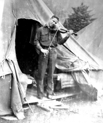 Unknown Soldier and violin