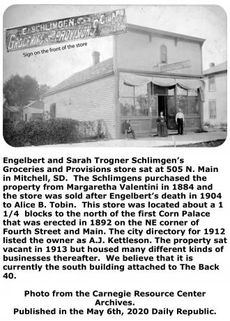 Engelbert & Sarah Trogner Schlimgen.