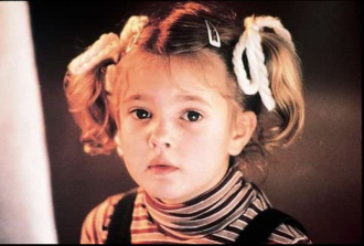 Drew Barrymore during E.T. the Extra-Terrestrial