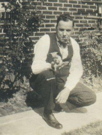 Doug with dog