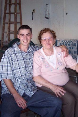 Veronica Newell W/ Her Great Nephew Randy