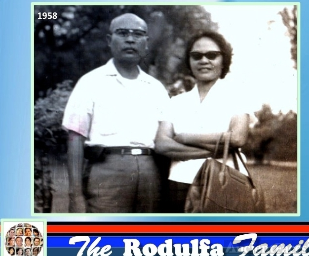 Rodulfa Parents, 1958