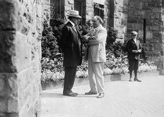 W.R. Hearst & Gov. Brewer (Brener?)