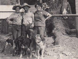 Callie, Ben, and Mary Ballard
