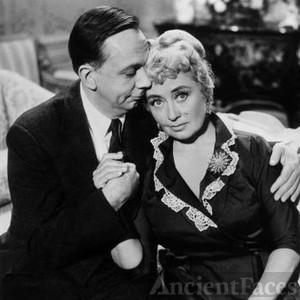 Henry Jones and Joan Blondell.