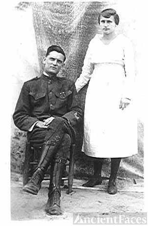 William & Rosie (Lafferty) Brewer- WW1