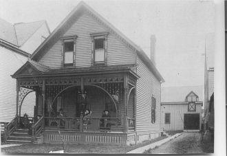 Walker Residence, NY 1896