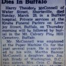 Harry T. McConnell obituary