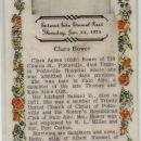 Clara Agnes (Oldt) Bower