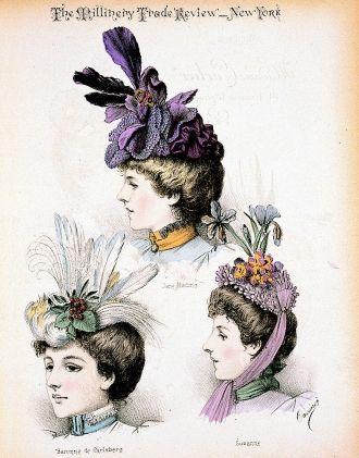 1897 Madame Carlier Hats
