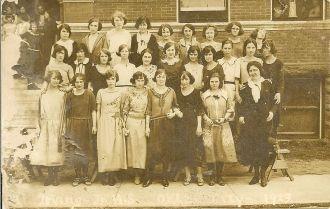 Irving Junior High School 1923