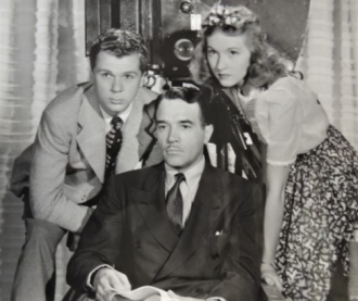 Jackie Cooper with Walter.