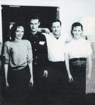 A photo of Rebecca,Floyd Jr.,Joe,Betty