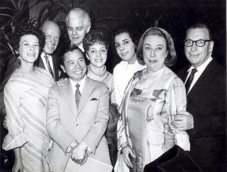 Earl Wilson, Si Seadler, Jeanne Glesnes