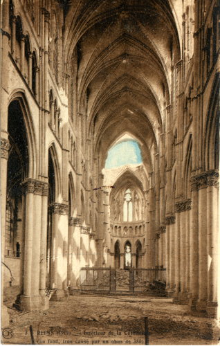 Reims Cathedral, 1919