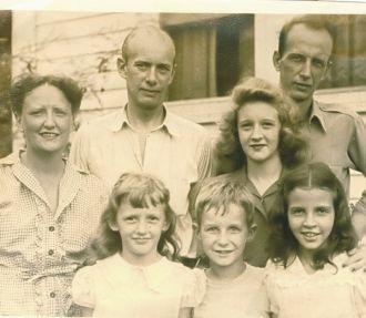 Wiley family, Minden, Louisiana 1940