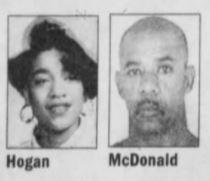 Keisha R Hogan and murderer Roosevelt McDonald