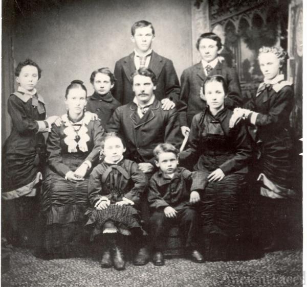Children of Sylvester R, & Anna (Packard) Burrell