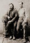 Isaac Alexander Beam and son Isaac M. (Met)