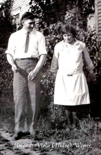 Elmer & Viola (Hulse) Wimer