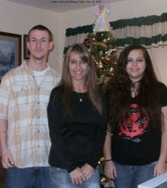 Justin, Pam and Brittany Tuttle, 2015
